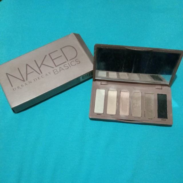 Naked Urban Decay basics (non ori)