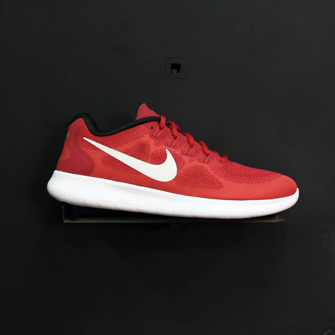 840dd837d733 Nike Free RN 2017 Game Red Off White Track Red
