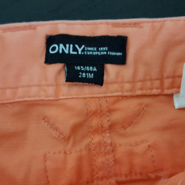 only orange skirt
