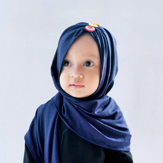 pashmina instan anak hijab