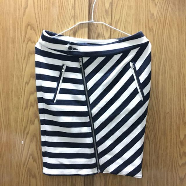 (有PC)條紋裙