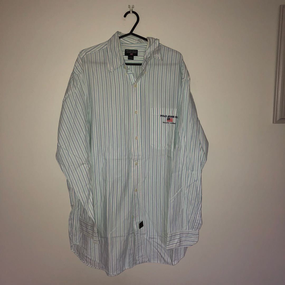 Polo jeans company long sleeve button up