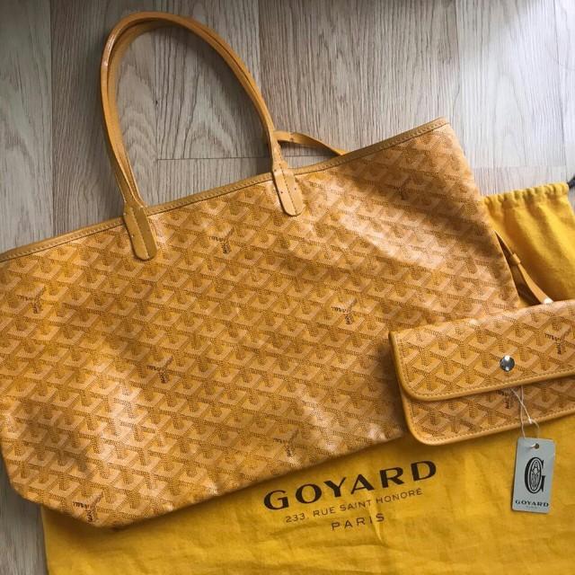 Preowned Goyard PM Yellow