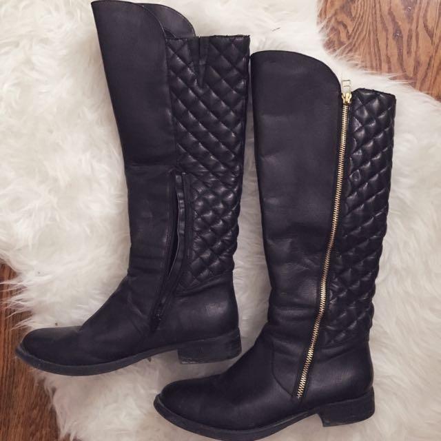 *PRICE DROP* Steve Madden Black Boots