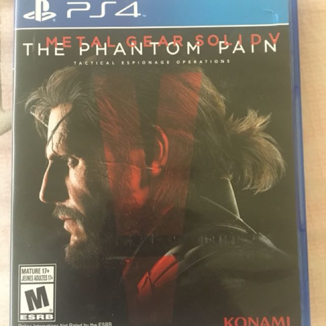 PS4 Games Metal Gear Solid V The Phantom Pain