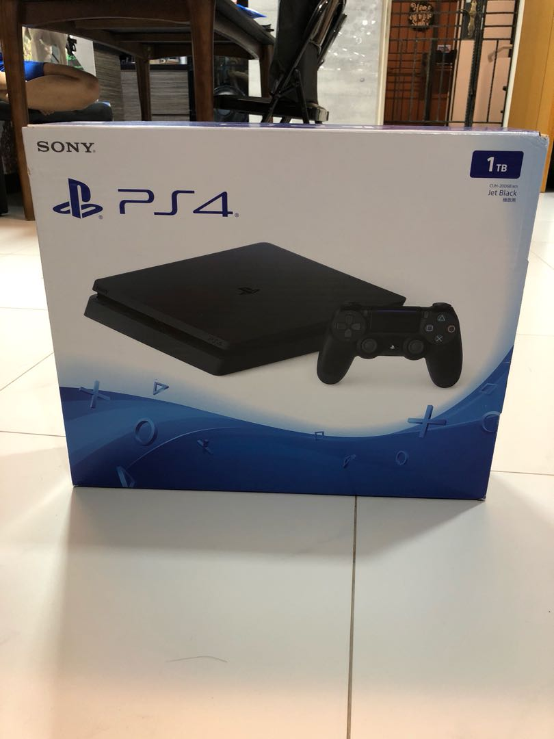 Ps4 Slim 1tb Toys Games Video Gaming Consoles On Carousell Sony Playstation 4 500gb Hits Bundle Jet Black Region 3 Photo