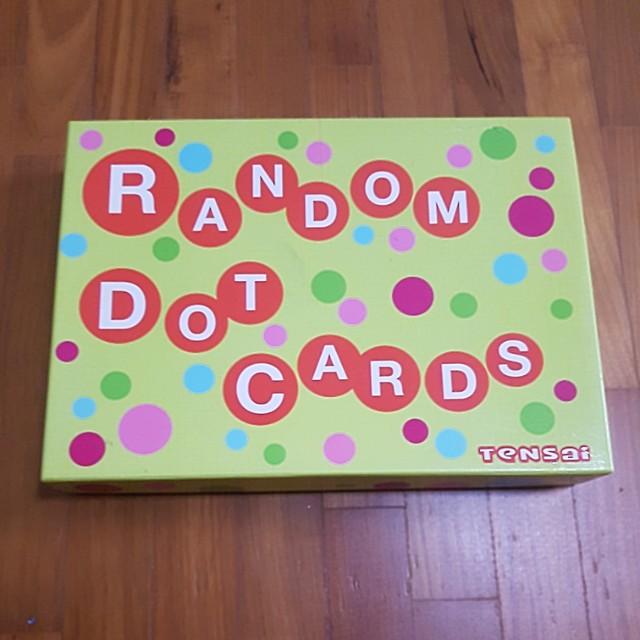 Random dot cards from shichida