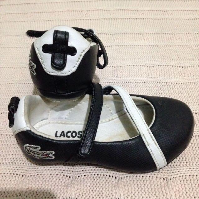 REPRICE!!! SALE... Sepatu baby girl original LACOSTE