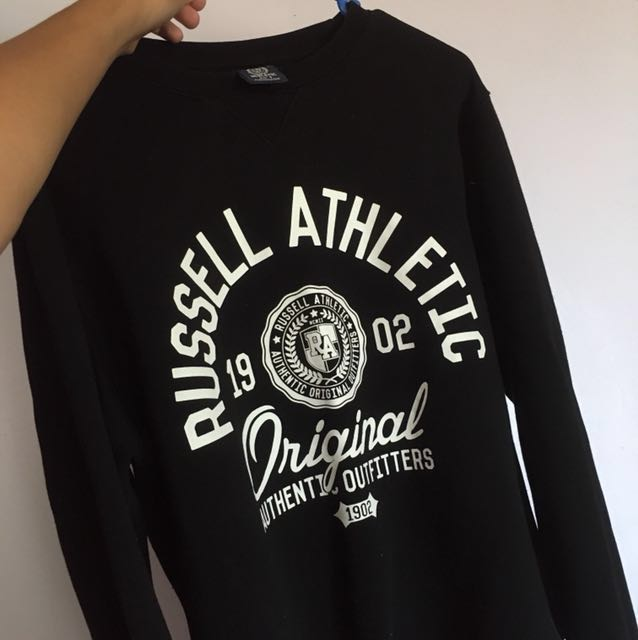 Russell athlete cropped jumper