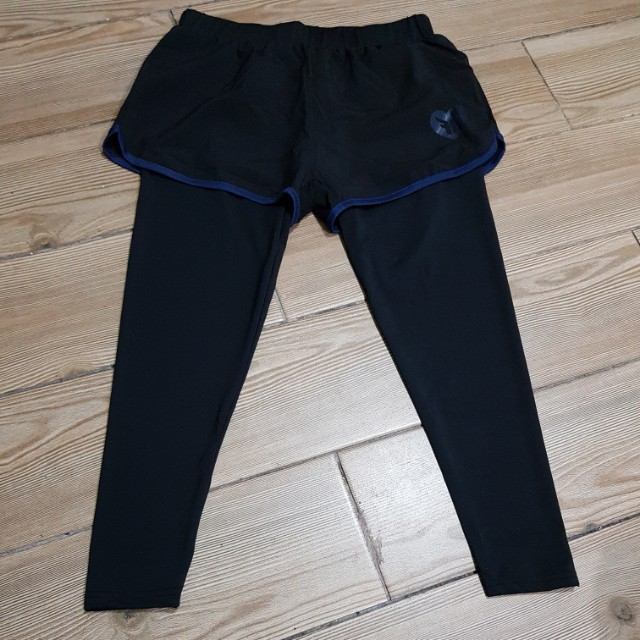 SaLe!!! 2 in 1 shorts with leggings last pc.
