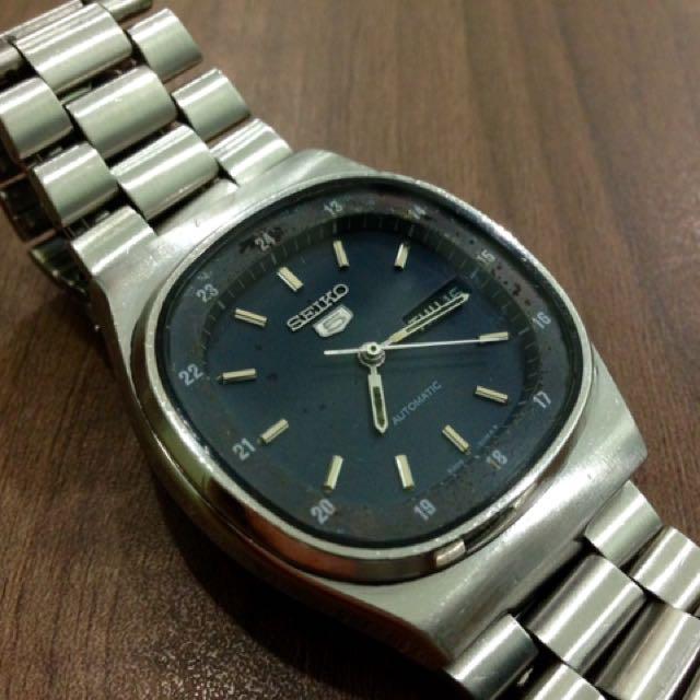 Seiko 6309-510A Square 21Jewels Automatic Watch
