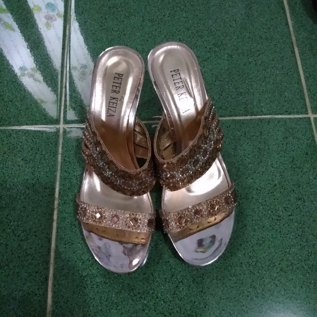 Sepatu gold peter keyza