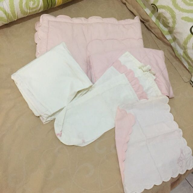 Set sprei + bed cover picard bebe