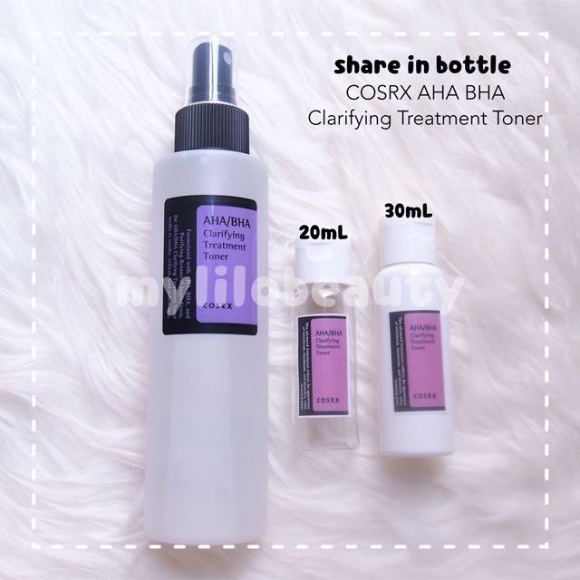 [SHARE IN BOTTLE] COSRX AHA/ BHA Clarifying Treatment Toner