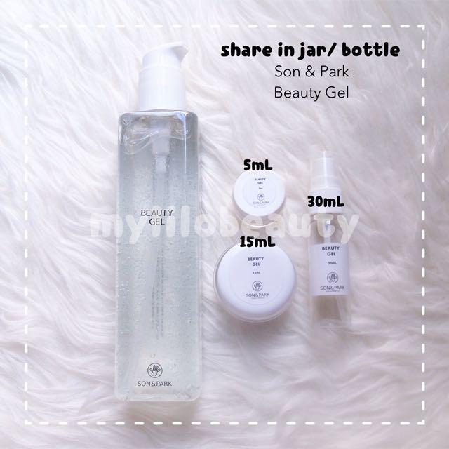 [SHARE IN JAR/ BOTTLE] Son & Park Beauty Gel