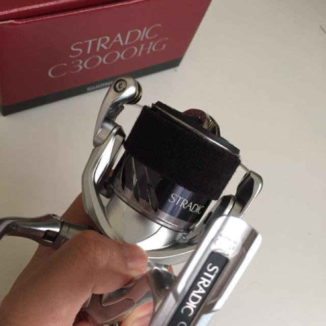 Shimano Stradic C3000HG reel