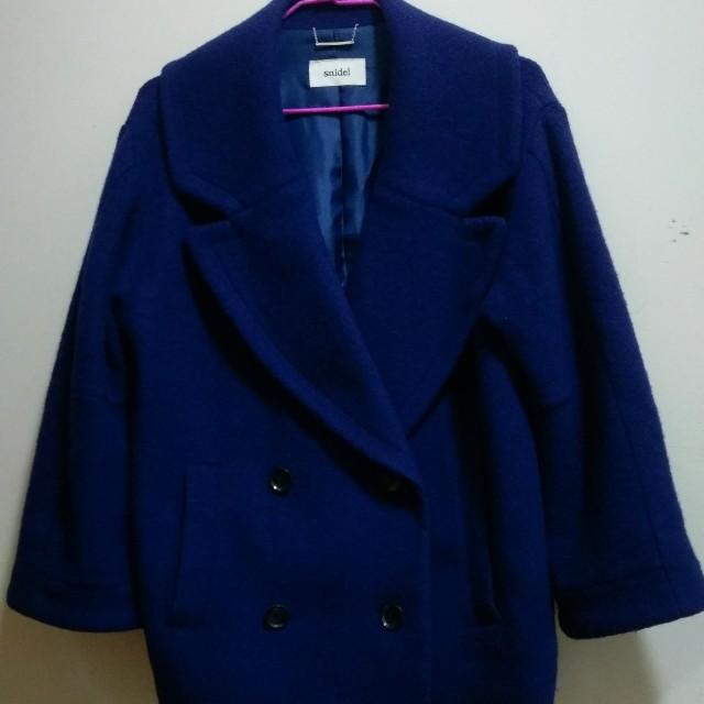 Snidel 藍色大衣 外套