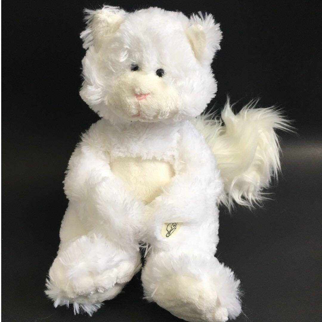 Snowie the Cat peekaboo plush