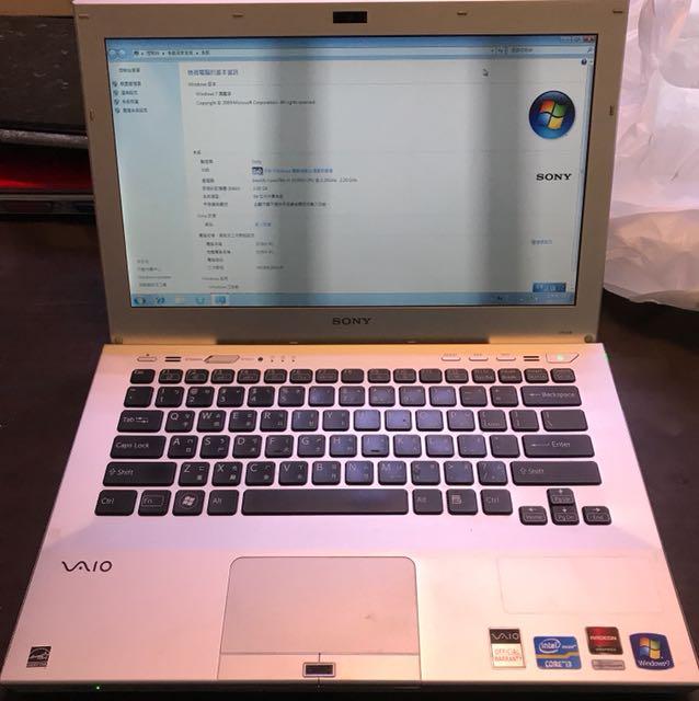 Sony i3 laptop