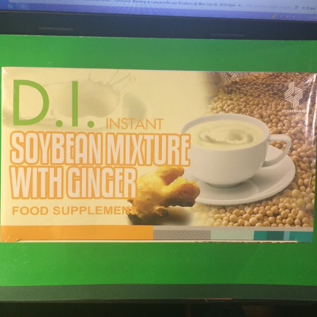 Soybean mixture W ginger