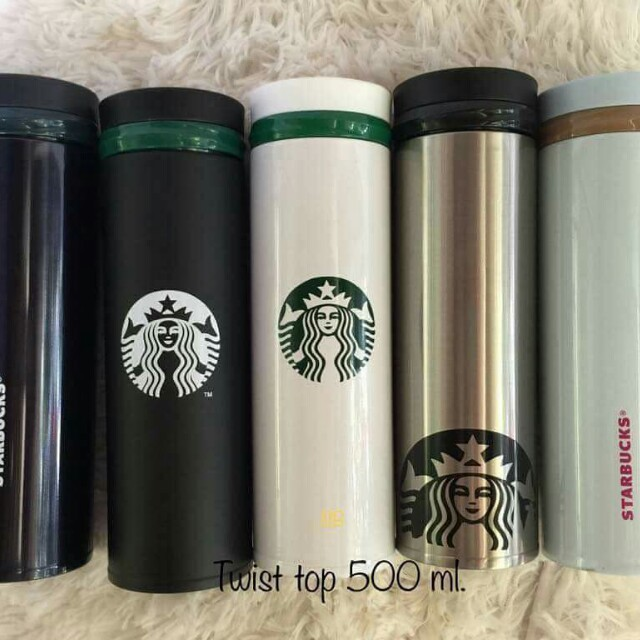 Starbucks Twist Top Thermos 500ml
