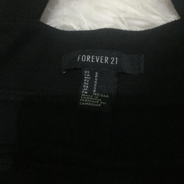 SUPER SALE‼️F21 black skirt jumper