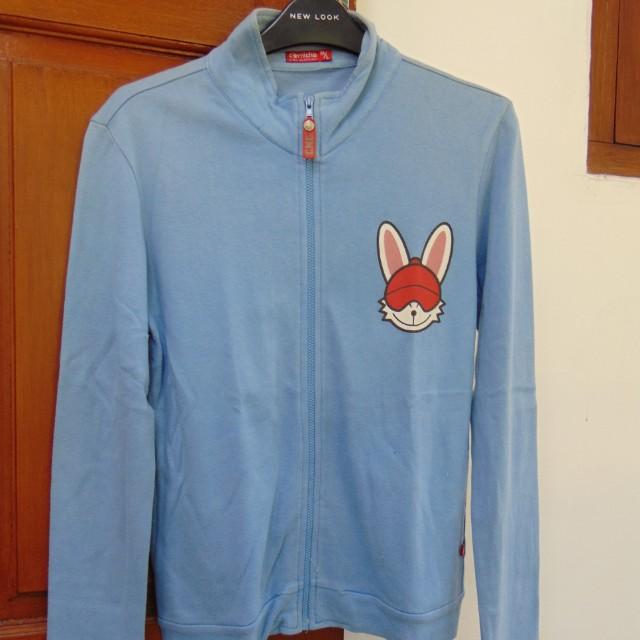 Sweater Biru Muda Rabbit