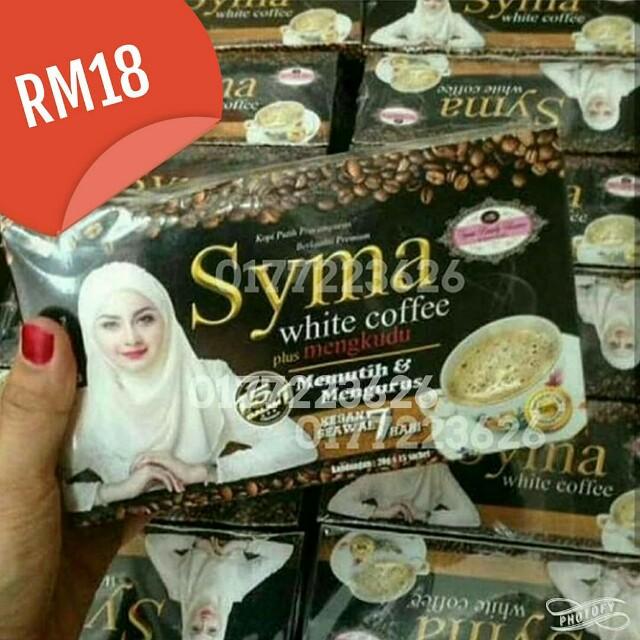 Syma white coffee (slimming & whitening)