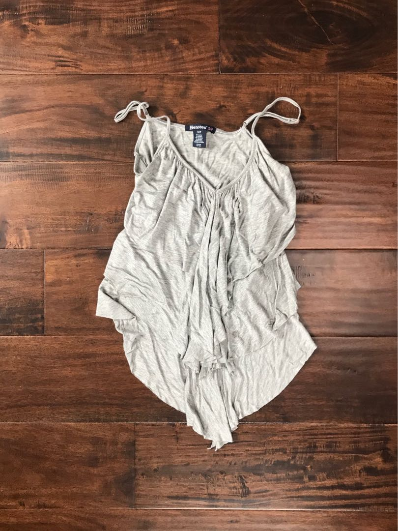Tank Top with Ruffles