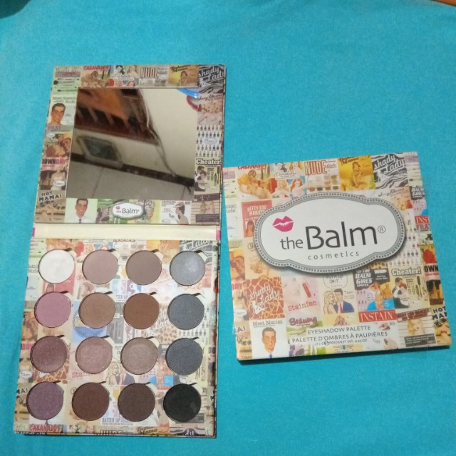 The Balm eyeshadow palette (non ori)