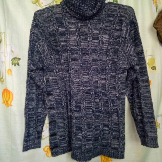 Turtle neck jacket