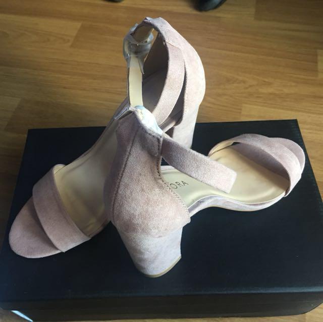 Zalora Dustypink heels