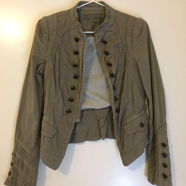 Zara's Olive Green Jacket