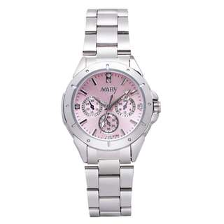 Free Shipping Stainless Steel Luxurious Watch For Ladies