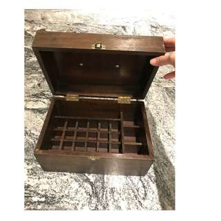 Solid Wood Aromatherapy Essential Oil Box