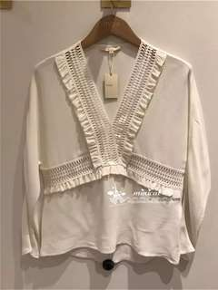 Maje white top