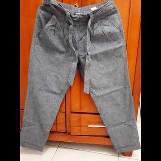 Celana bahan / celana panjang / details