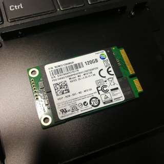 Samsung Msata 120GB with SATA adapter