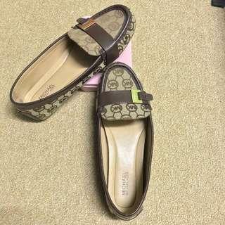 Michael Kors Women's Loafers Monogram Jacquard size 6.5/36.5