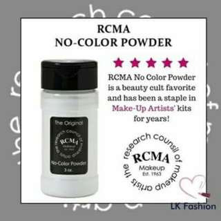 RCMA NO COLOUR POWDER SETTING