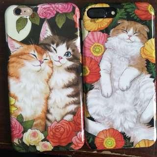 (預訂)油畫貓咪iphonex手機殻