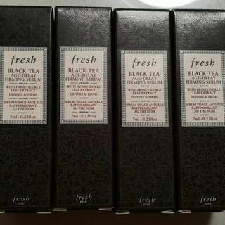 Brand New Fresh Black Tea Age Delay Firming Serum
