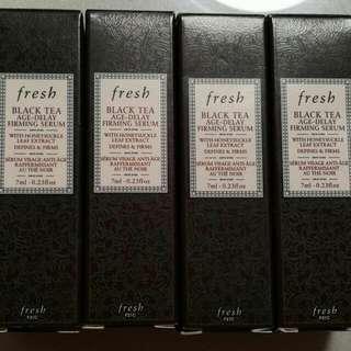 Brand New Fresh Black Tea Age Delay Firming Serum