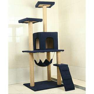 (Po) Cat condo with Hammock