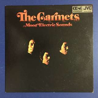 THE GARMET  Moog Electric  Band (LP)