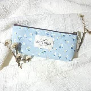 (BN) Molly's Garden Canvas Pencil stationary bag
