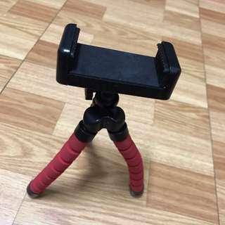 🚚 9成新 相機 手機 隨意變換高低左右 支架 手機架 相機架 自拍架