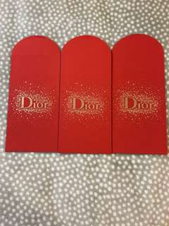 Dior Red Packet 3pcs