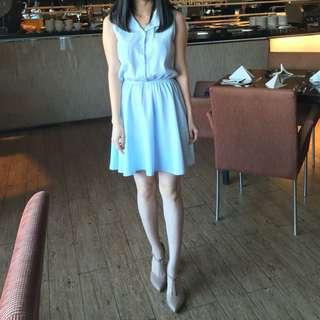 Baby Blue Dress