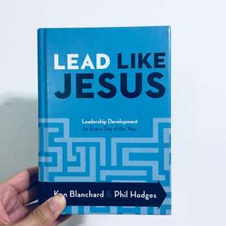 lead like jesus devotions